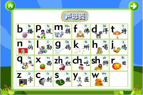 汉语拼音《声母、韵母、整体认读音节、