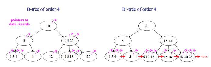 MySQL索引的原理,B+树、聚集索引和二级索引的结构分析