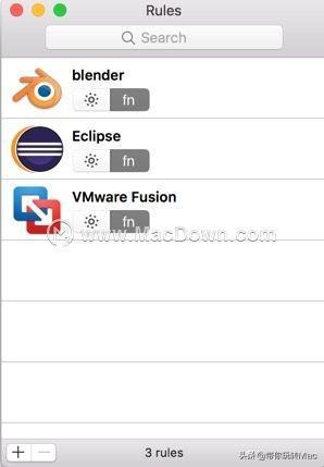 Mac键盘fn自动转换工具