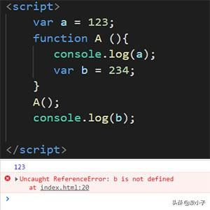 初识JS中的作用域和闭包