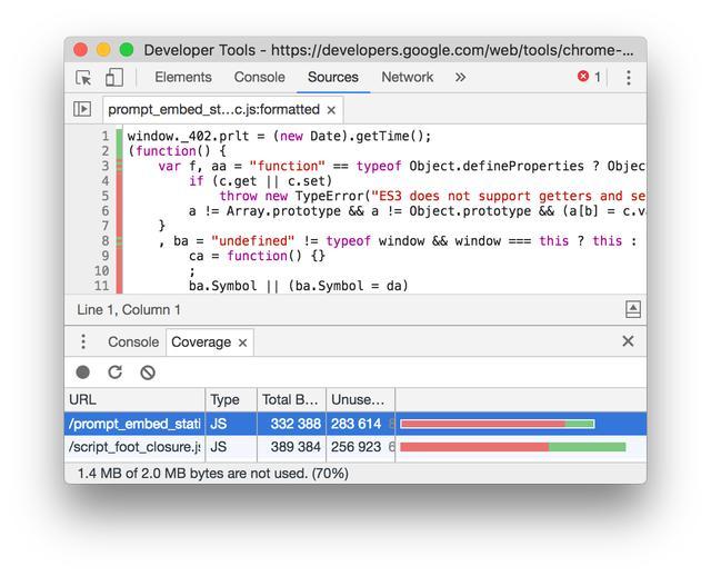 Chrome 调试工具的一些高阶功能