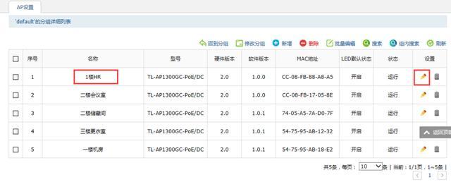 公司刚买了一个TP-link AC300无线控制器,5个AP如何调试?