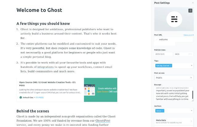 开源 CMS Ghost 3.0 发布,带来新功能