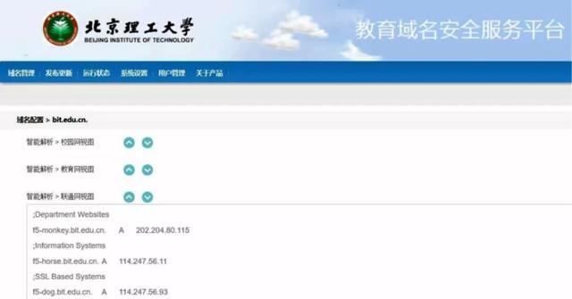看!北京理工大学域名安全机器人来啦