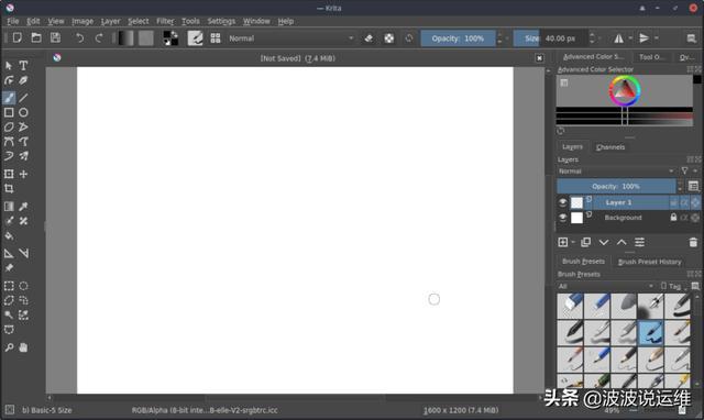 分享6 款面向Linux服务器的开源绘图应用程序