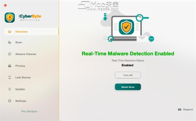 Mac上有效检测病毒的安全软件