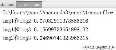 python图像识别之图片相似度计算