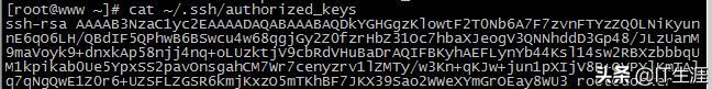 ssh免密登录在Linux服务器之间的设置