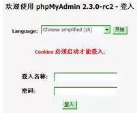 PhpMyAdmin安装配置大全