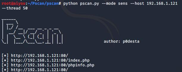 端口扫描 -- Pscan