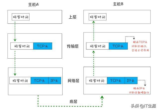 一文看懂IP、UDP和TCP三者的关系