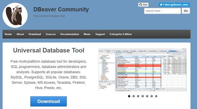 开源免费的多功能数据库管理软件DBeaver