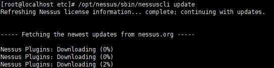 Centos7安装Nessus 8.5漏洞扫描工具