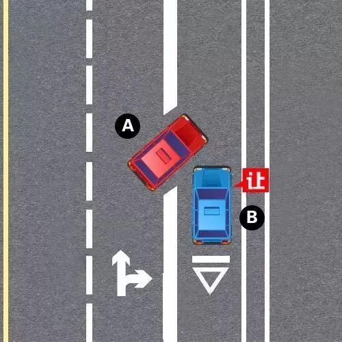 图解路口让行规则,一看就懂!