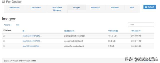 分享一款Docker可视化管理工具DockerUI