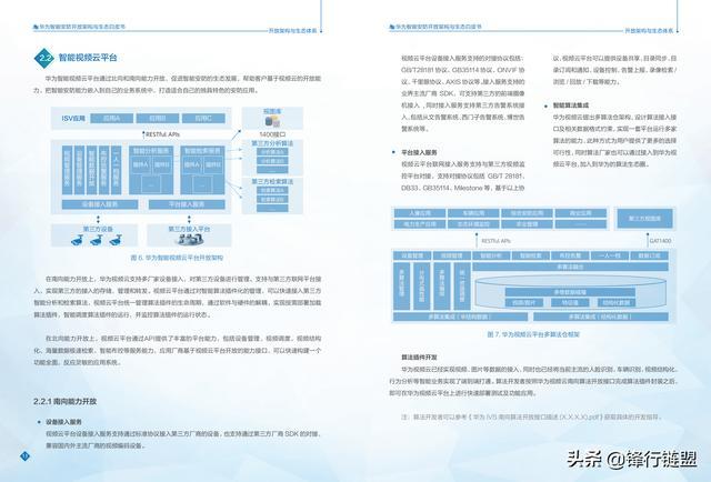 华为智能安防开放架构与生态白皮书
