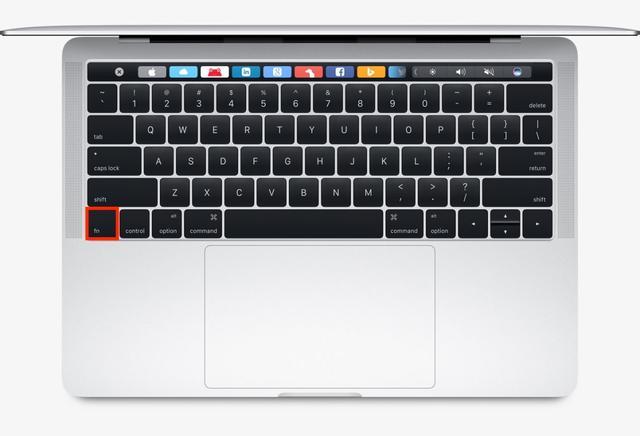 MacBook 键盘的「fn」键有什么用