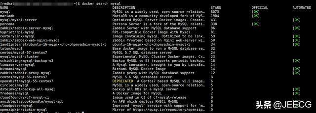 Docker 安装 MySQL5.7