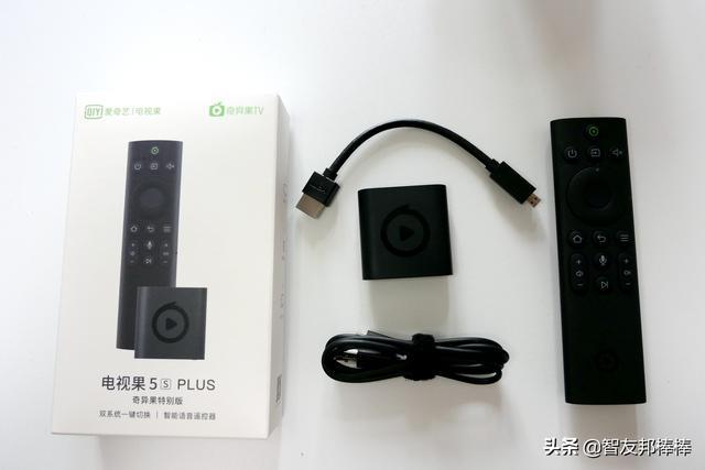 投屏+电视盒+语音控制 电视果5S PLUS 奇异果特别版测评