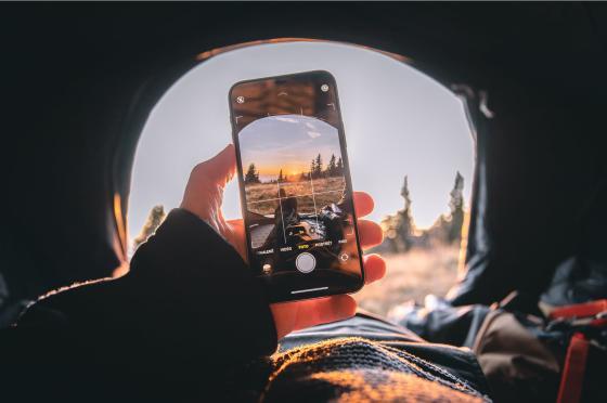 华为手机拍照不好看?一键开启iSO设置,瞬间拍出时尚大片