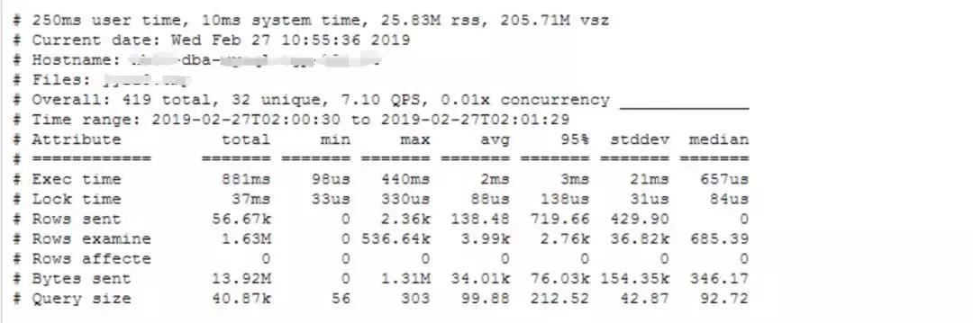 一条MySQL报警的分析思路