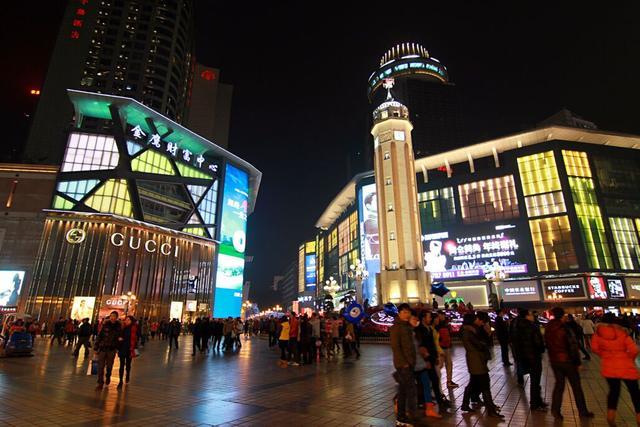 """中国最""""有名""""的4条步行街,去过2条算及格,你都去过几条"""