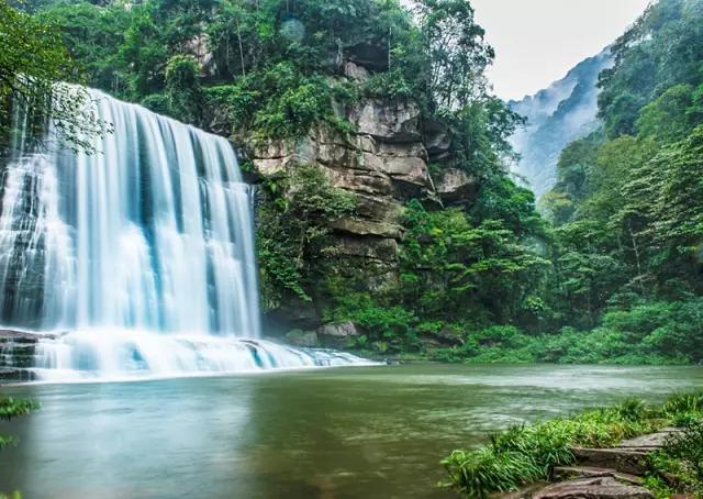 放过黄果树瀑布,推荐12个小众的瀑布景观,开启8月避暑之旅