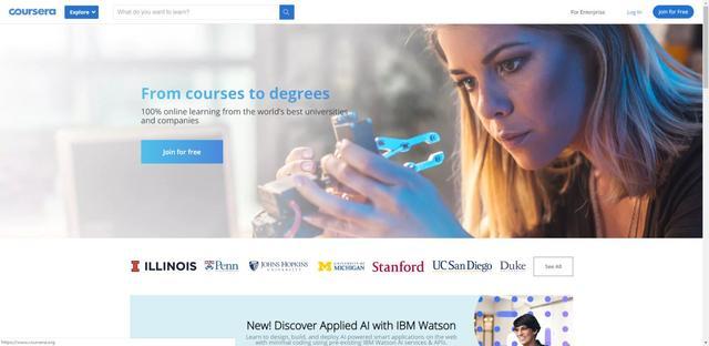 十个高质量自学网站,让你的技术突飞猛进