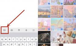微信朋友圈怎样拼接长图片?