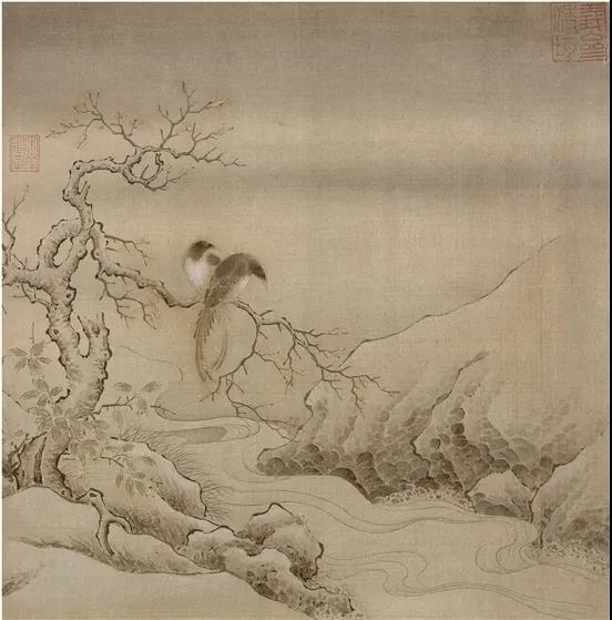 赏析丨宋代小品画:对幅小品画