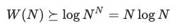 为什么排序的复杂度为 O(N log N)