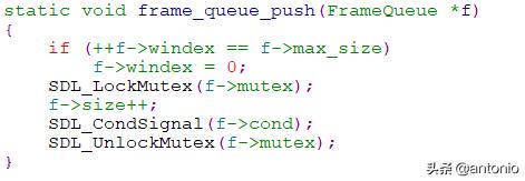 FFmpeg的FFplay框架分析