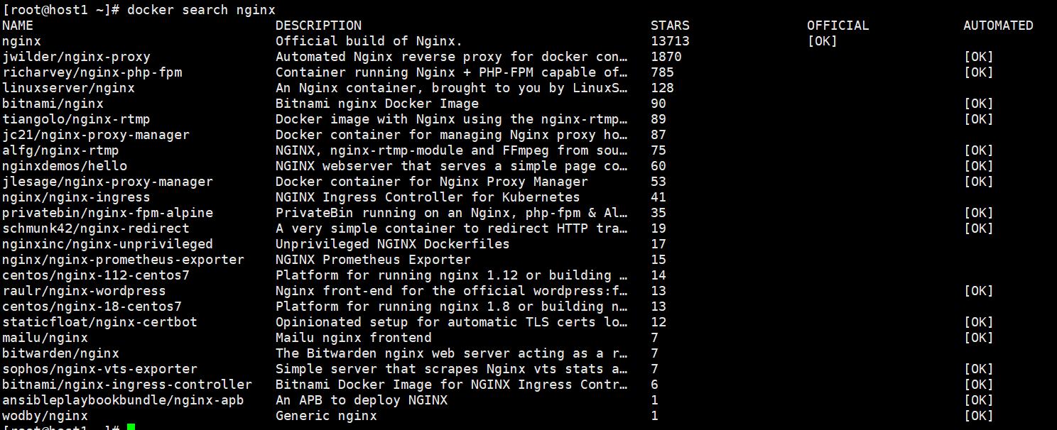 Docker 安装 Nginx