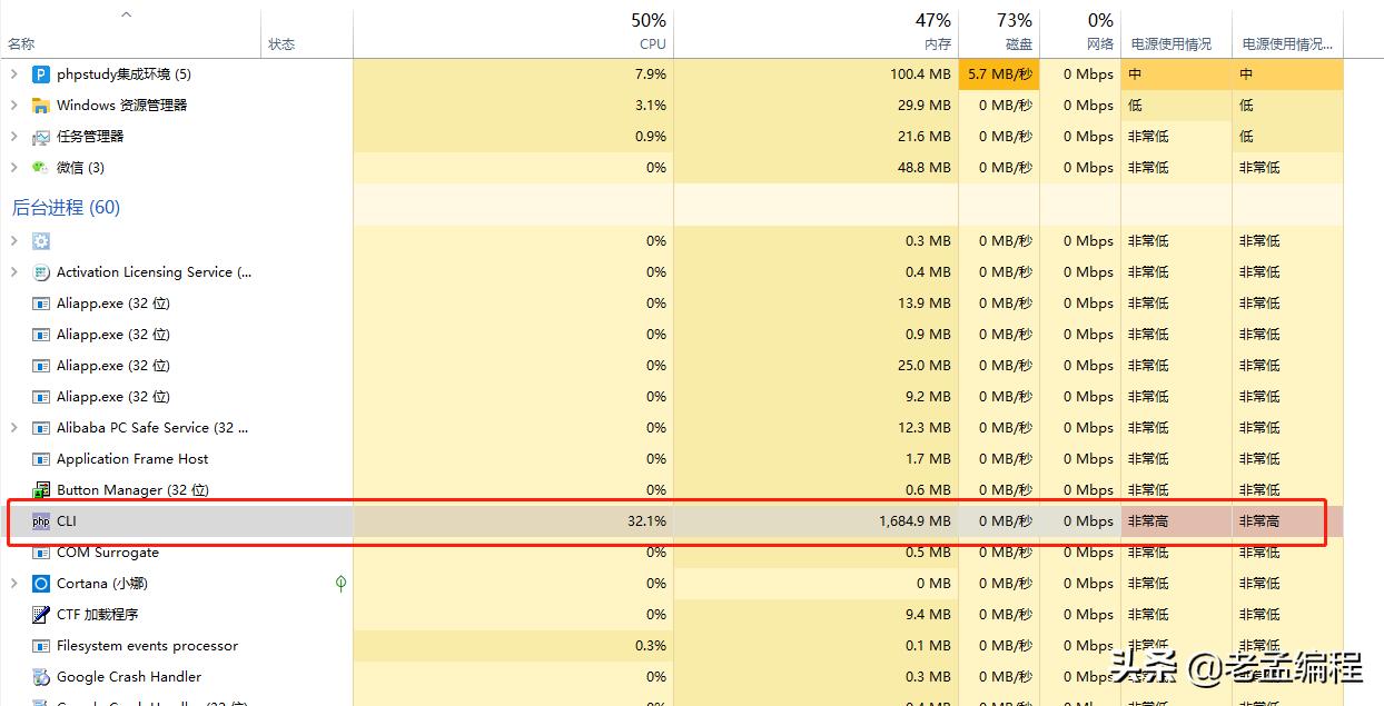 PHP操作2亿条数据单表性能评测