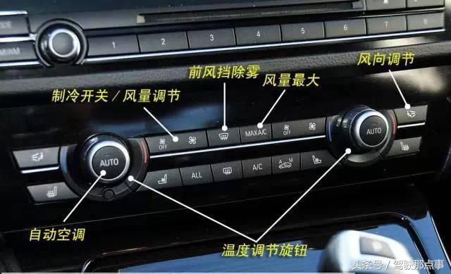 建议收藏,车内各种按键、开关、功能解析!记住你就成为老司机了