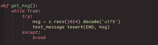 用 Python 开发一个 「聊天室」