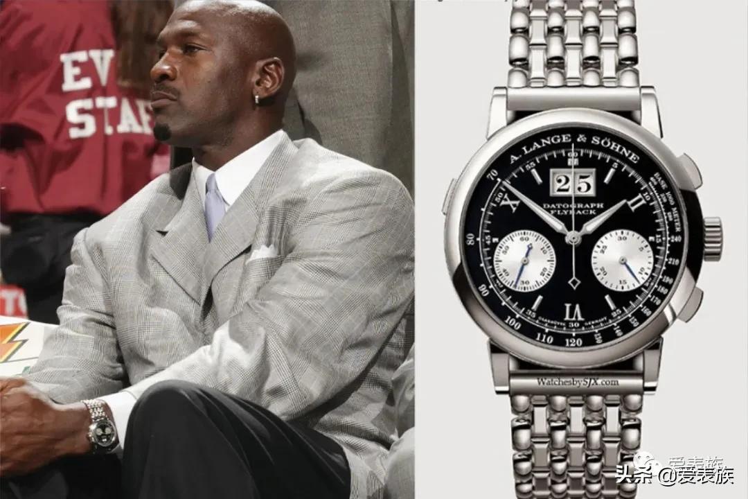 飞人乔丹的独特手表收藏