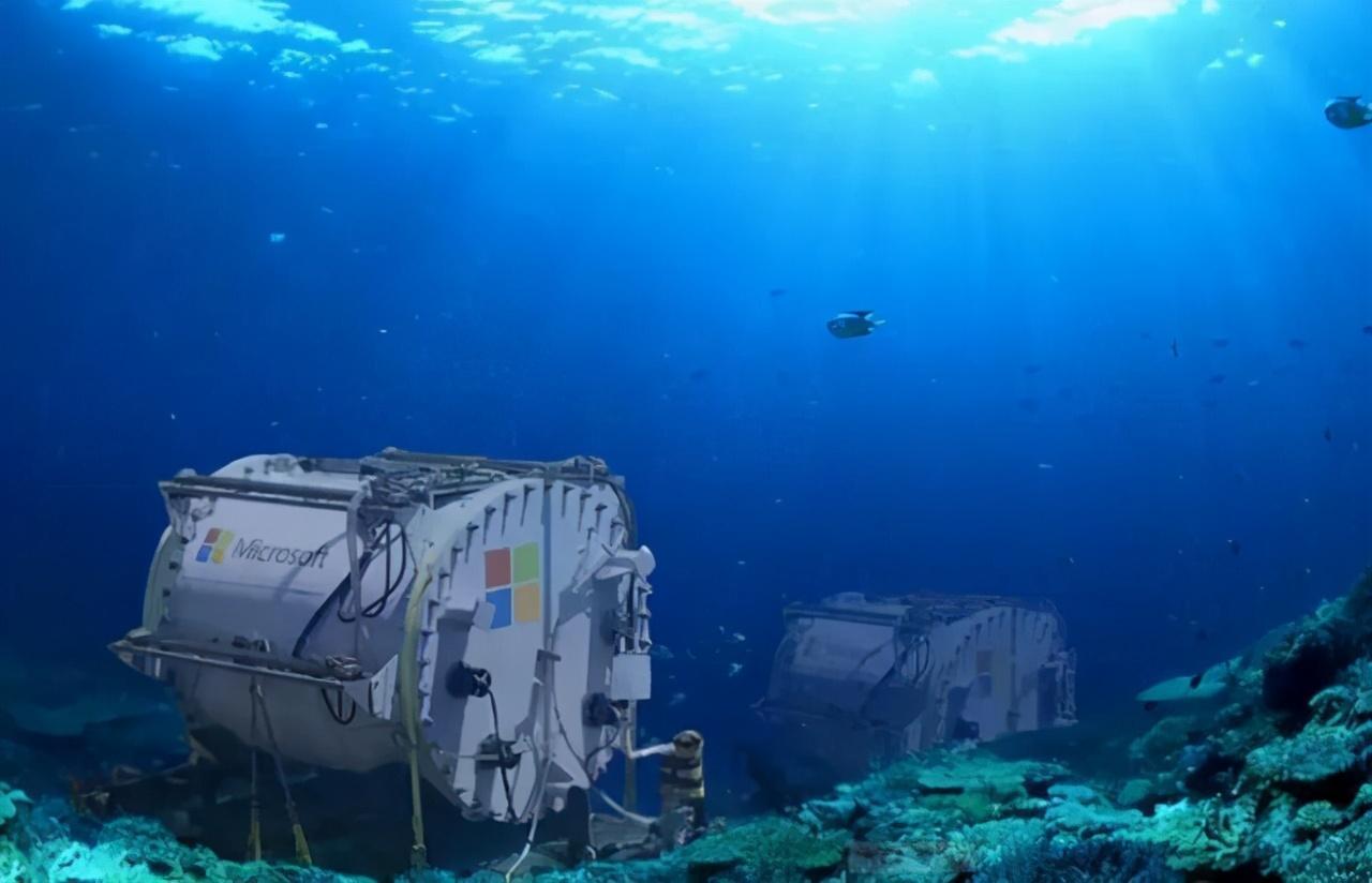 大海都是水,微软为什么把服务器放在海底?了解服务器背后的科学