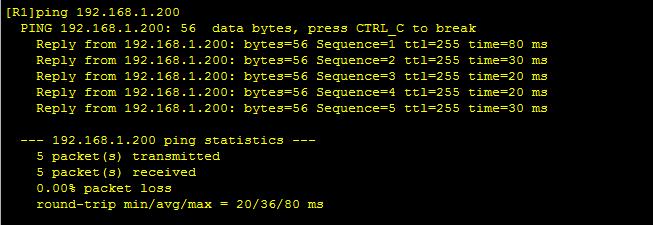 华为路由器静态NAT配置,实现一对一地址映射,土豪级,收藏转