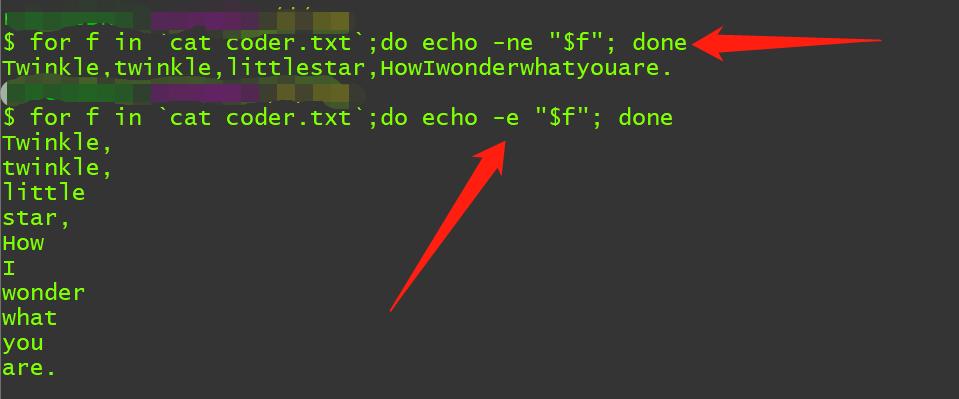 都Linux的老司机了,连个echo都用不好,大概火候差在这