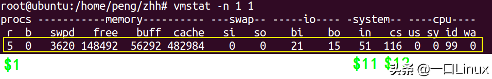 获取linux内存、cpu、磁盘IO等信息脚本及其原理详解