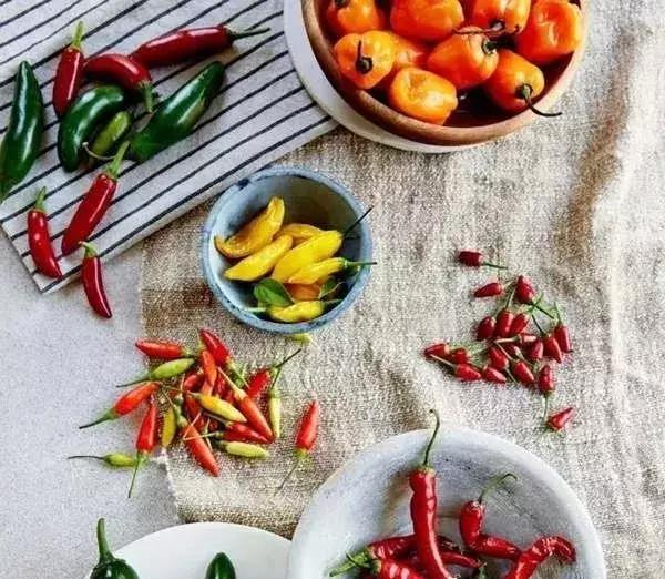 全球著名辣椒大赏!你认识几个?