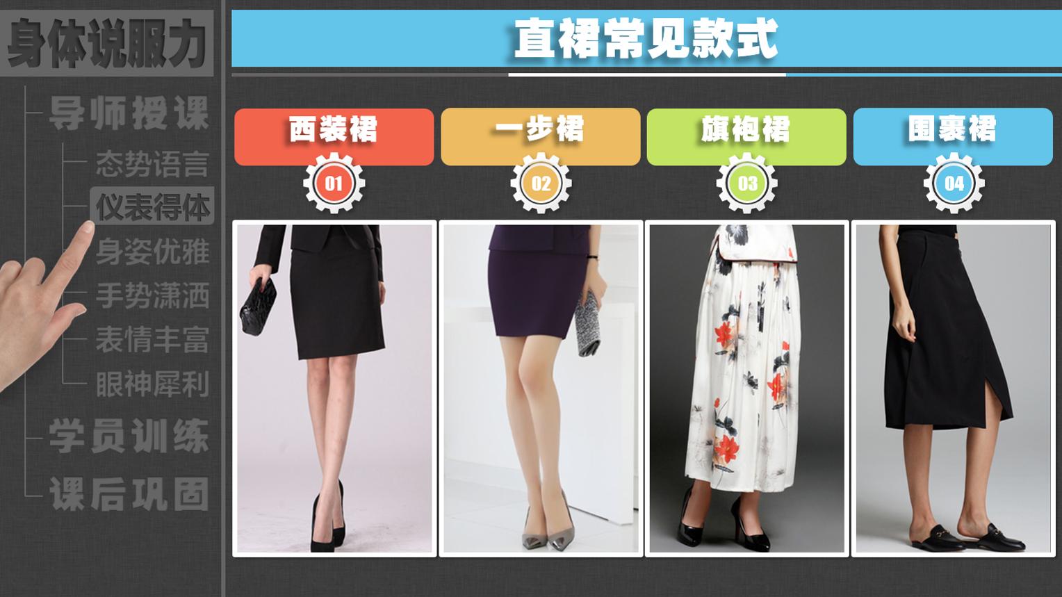 女演讲嘉宾应该如何挑选套裙?款式、领型