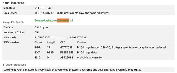 网站是如何识别浏览器指纹的?