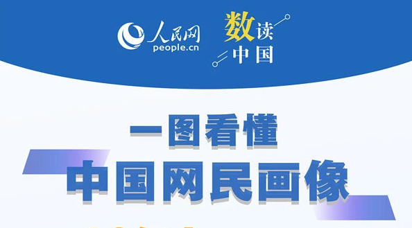 手机网民规模超10亿!一图看懂中国网民画像